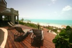 Descend the magnificent, winding IPE boardwalk through the native beach grasses and seagrape, to the white sands of what will feel like your own private beach. Seek shade under our thatched palapas or enjoy the pristine, sandy bottom, clear waters of the shallow and very calm Caicos Banks, safe for even the youngest of swimmers. Five miles of natural beachfront offer some of the best beachcombing on the island.